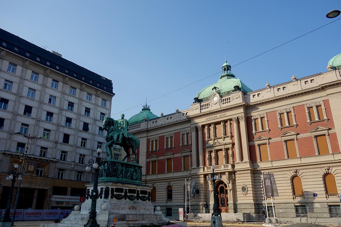 plaza republica belgrado