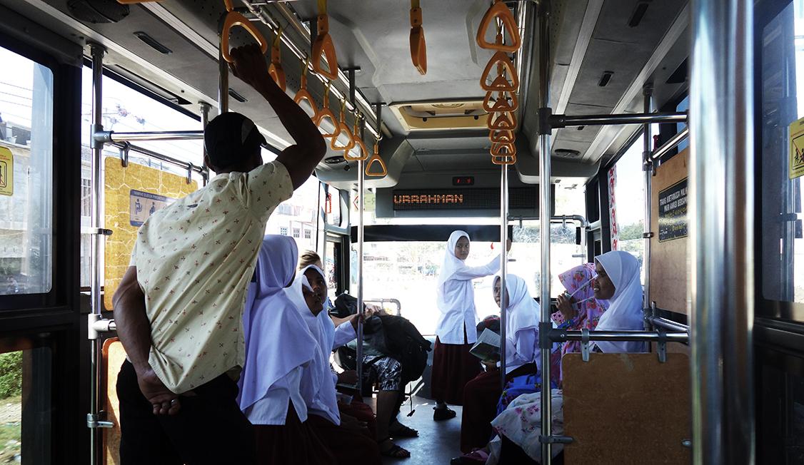 autobus gratuito banda aceh