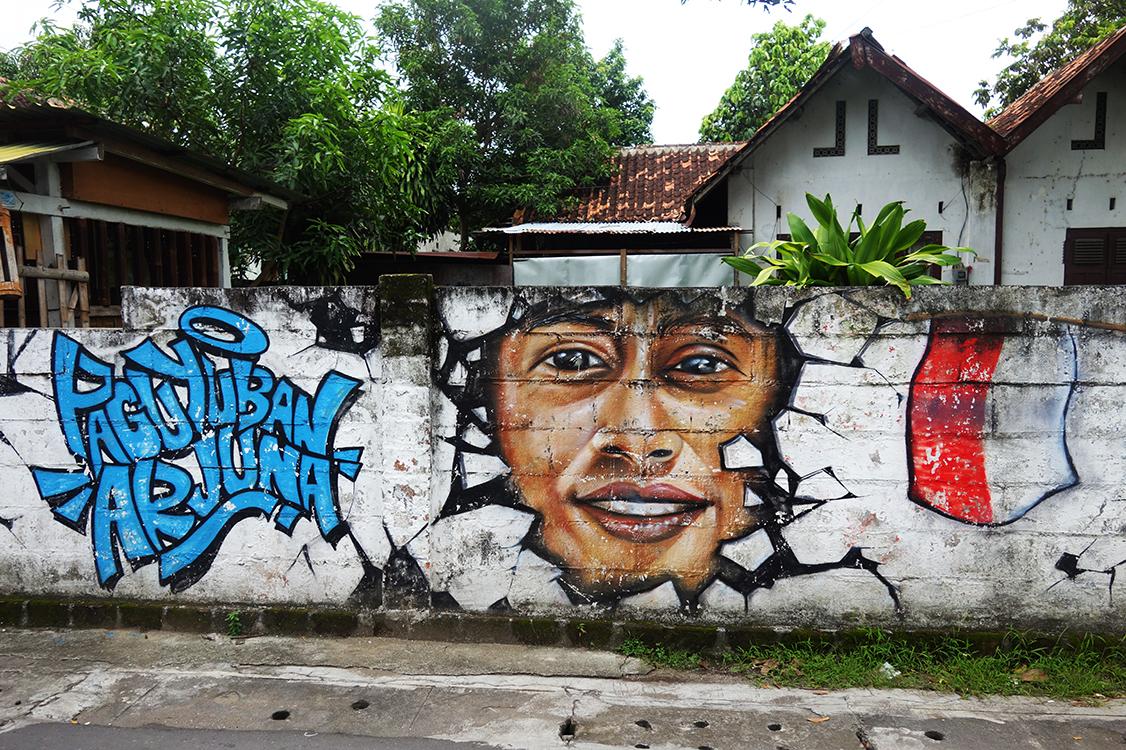 Cen yogyakarta graffiti