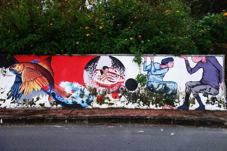 tuktuk graffiti street art