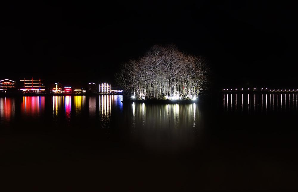 lago de uzülgol night mar negro