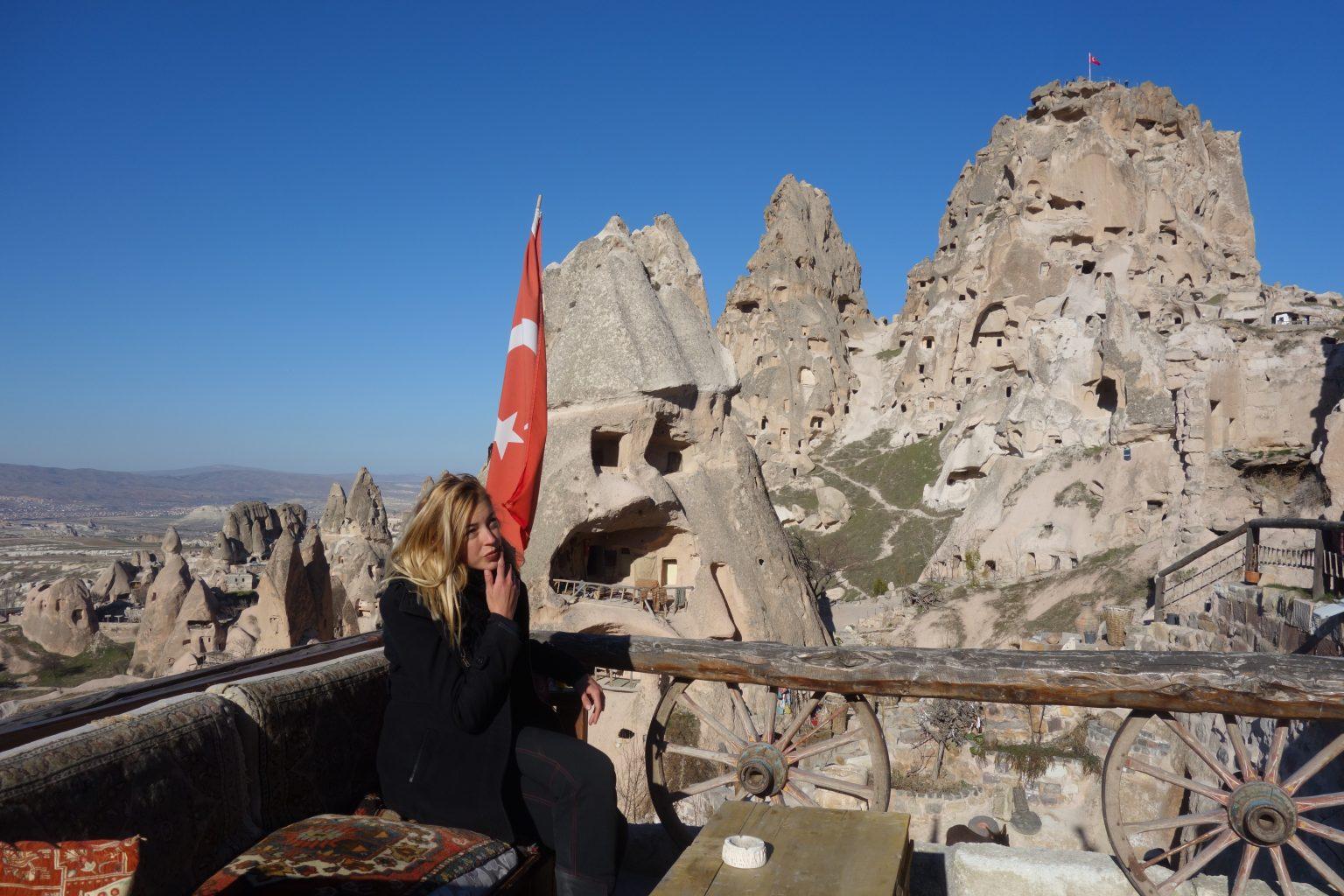 Uçhisar castillo capadocia pigeon valley