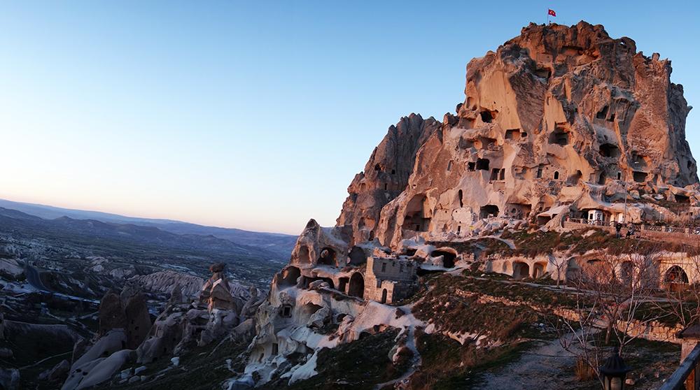 castillo Uçhisar capadocia