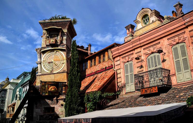 torre del reloj tiflis