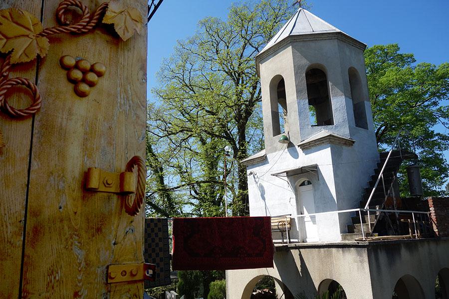 que ver georgia iglesia