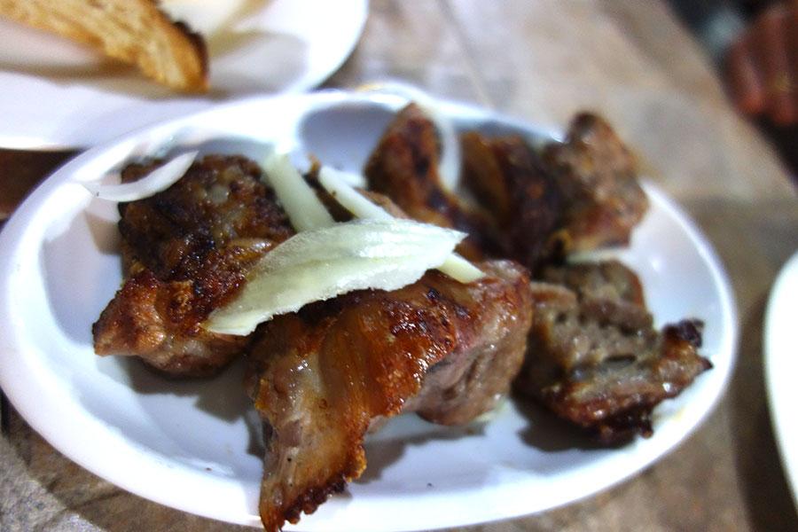 barbacoa comida georgiana