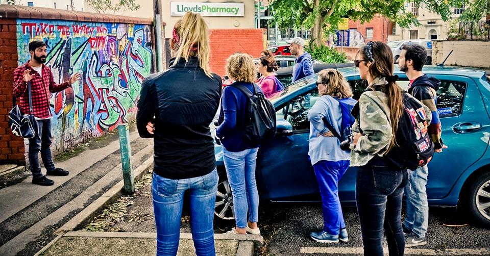 free tour street art