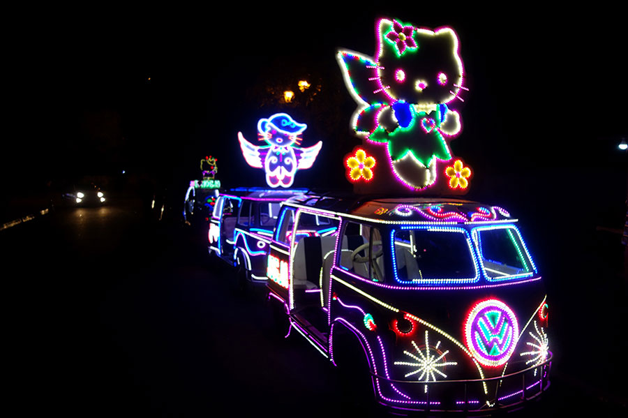 coches luminosos nightmarket