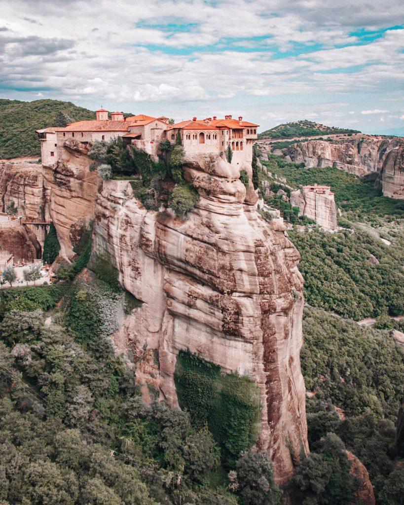 meteora monasterios grecia