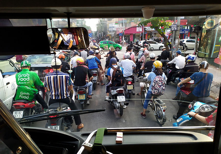 motos autobus