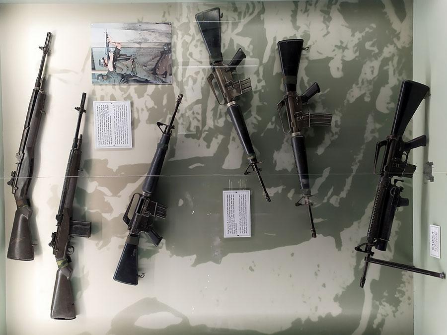 armas-guerra-vietnam que ver en ho chi minh