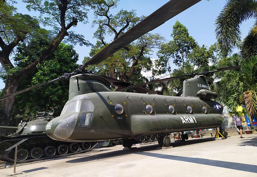 helicoptero que ver en vietnam