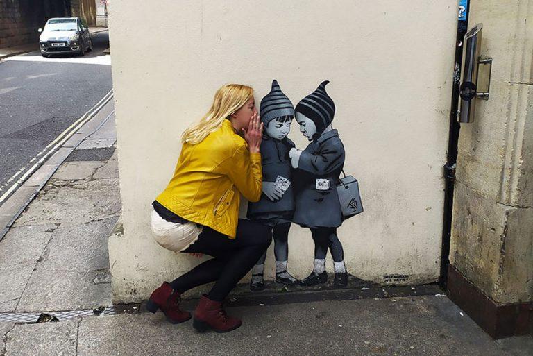 bristol street art grafiti kids